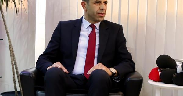 Prof. Dr. Kudret Özersay begun duties as Deputy Prime Minister and Minister of Foreign Affairs.