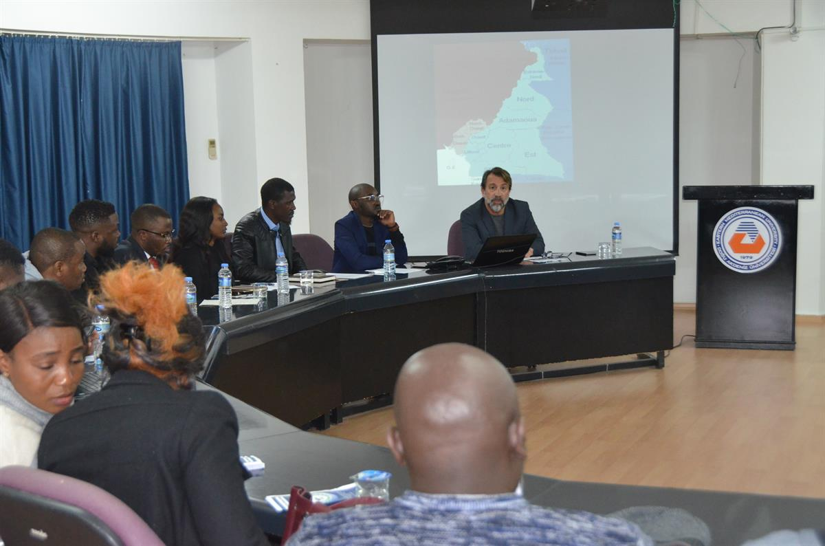 EMU Hosts a Panel on the Solution of the Cameroon Anglophone Crisis
