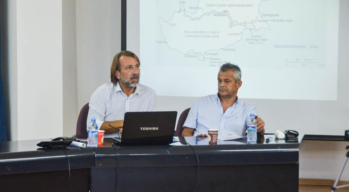 The Cyprus Problem and Developments in the Mediterranean Discussed in EMU